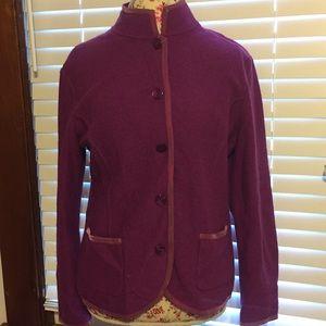 Talbots brand woman's sz medium jacket wool fall